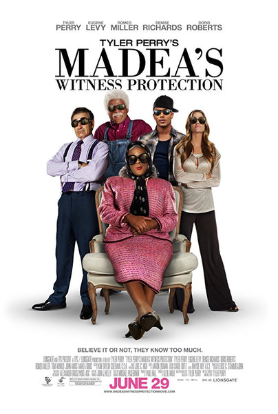 Tyler Perry's Madea Witness Protection HD VUDU ITUNES, MOVIES ANYWHERE, CHEAP DIGITAL MOVEIE CODES CHEAPEST