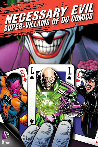 Necessary Evil: Super-Villains of DC Comics HD VUDU ITUNES, MOVIES ANYWHERE, CHEAP DIGITAL MOVEIE CODES CHEAPEST