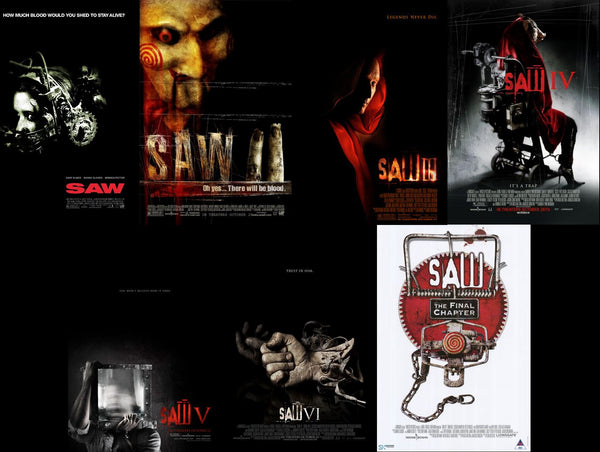 Saw 7 Film Collection Saw 1-6 & Final ChapterNOT JIGSAWHD VUDU ITUNES, MOVIES ANYWHERE, CHEAP DIGITAL movie CODES CHEAPEST