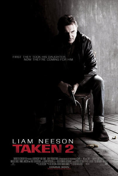 Taken 2 HD VUDU ITUNES, MOVIES ANYWHERE, CHEAP DIGITAL MOVEIE CODES CHEAPEST