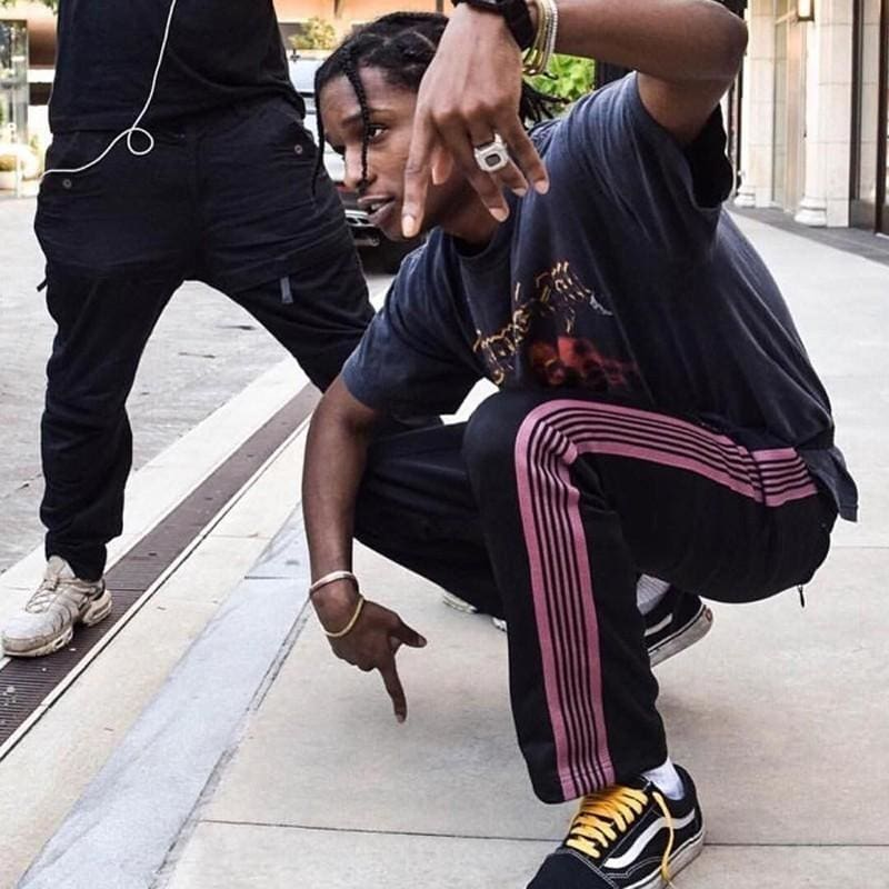 The Story Behind A$AP Rocky's Needles Track Pants