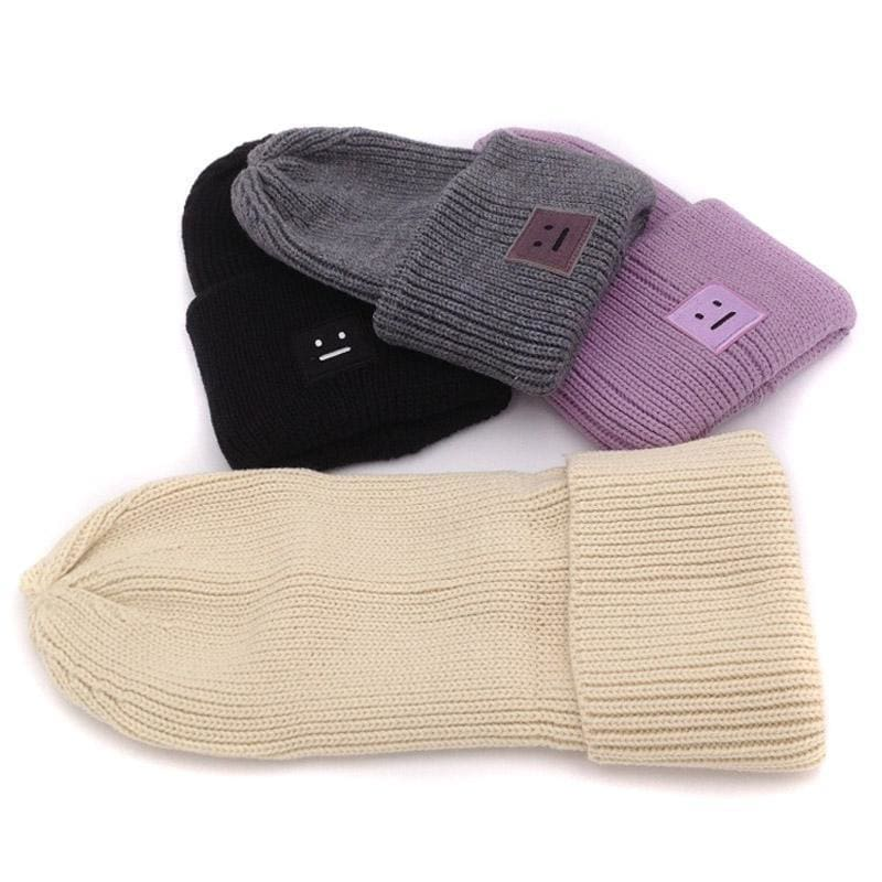 Acne Ribbed Beanie Hat | Streetgarm