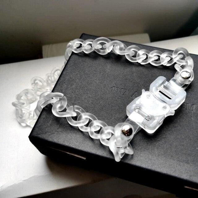 ALYX transparent Buckle Chain | Streetgarm