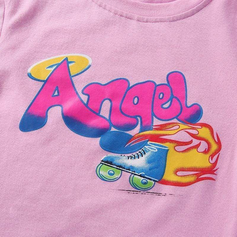 Angel Crop Top | Streetgarm