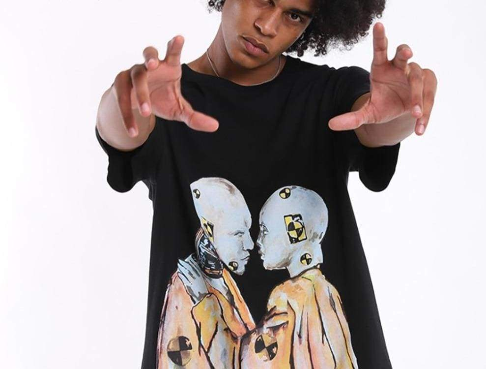 ASAP Rocky Testing Crash Dummy T-Shirt | Streetgarm