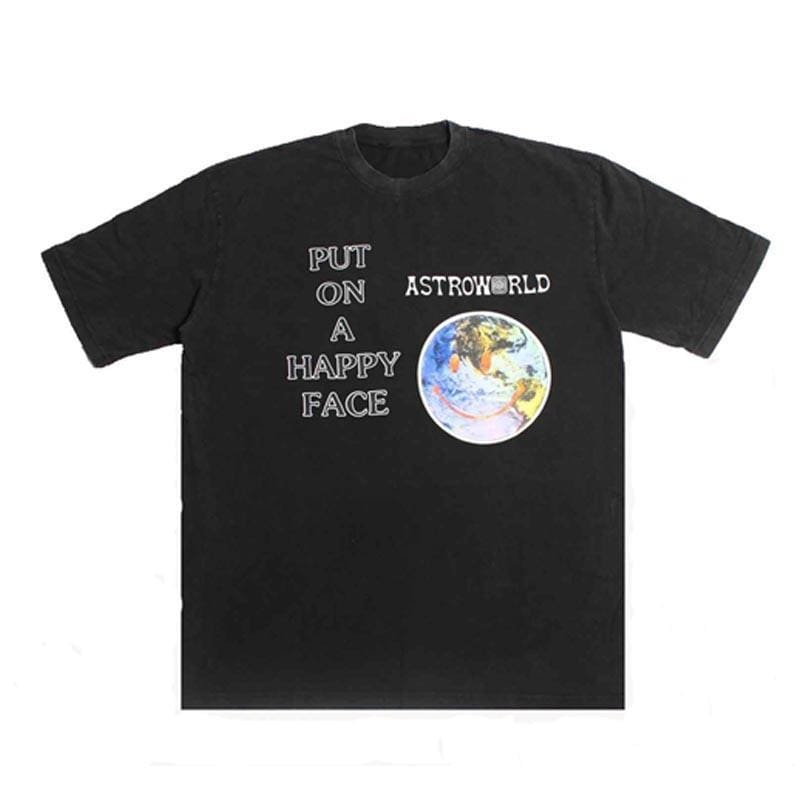 Astroworld Happy Face T-Shirt | Streetgarm