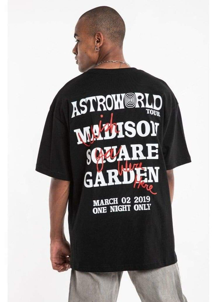 Astroworld Madison Square Garden T-Shirt | Streetgarm