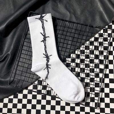 Barbed Wire Socks | Streetgarm