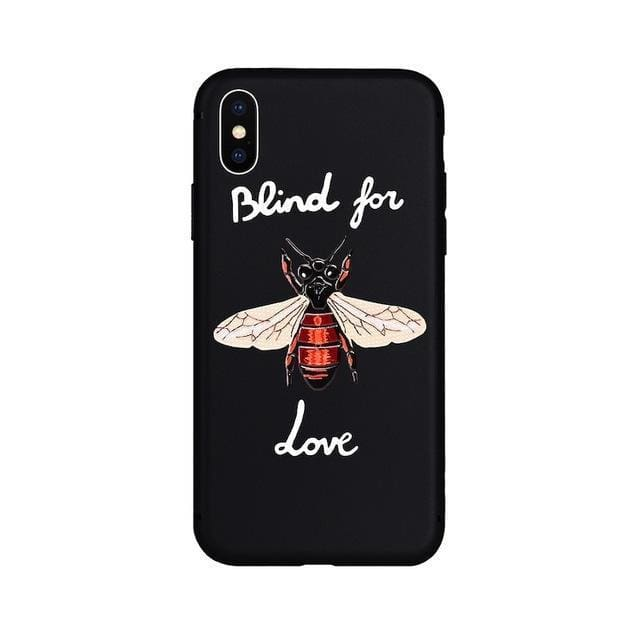 Bee Iphone Case | Black / for iPhone 5 5s SE