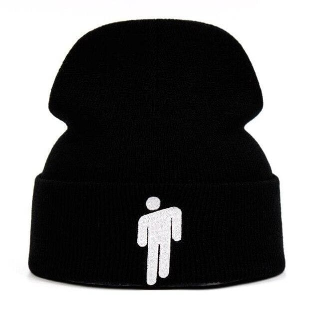 Billie Eilish Hang Man Beanie | Black