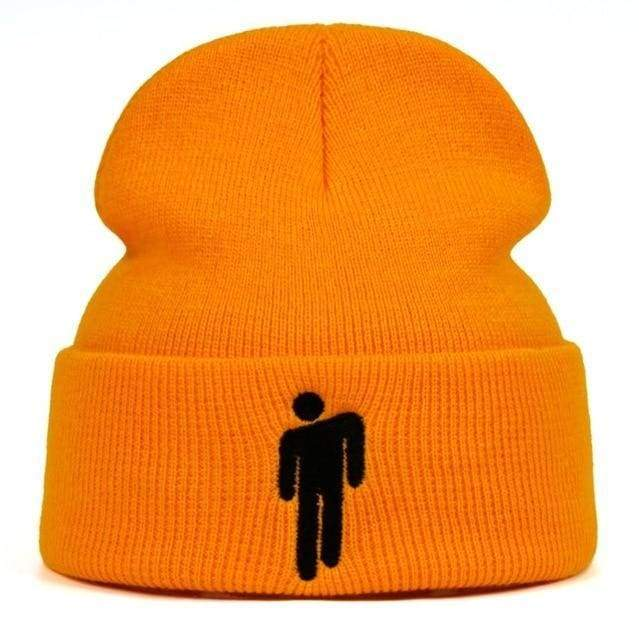 Billie Eilish Hang Man Beanie | Orange