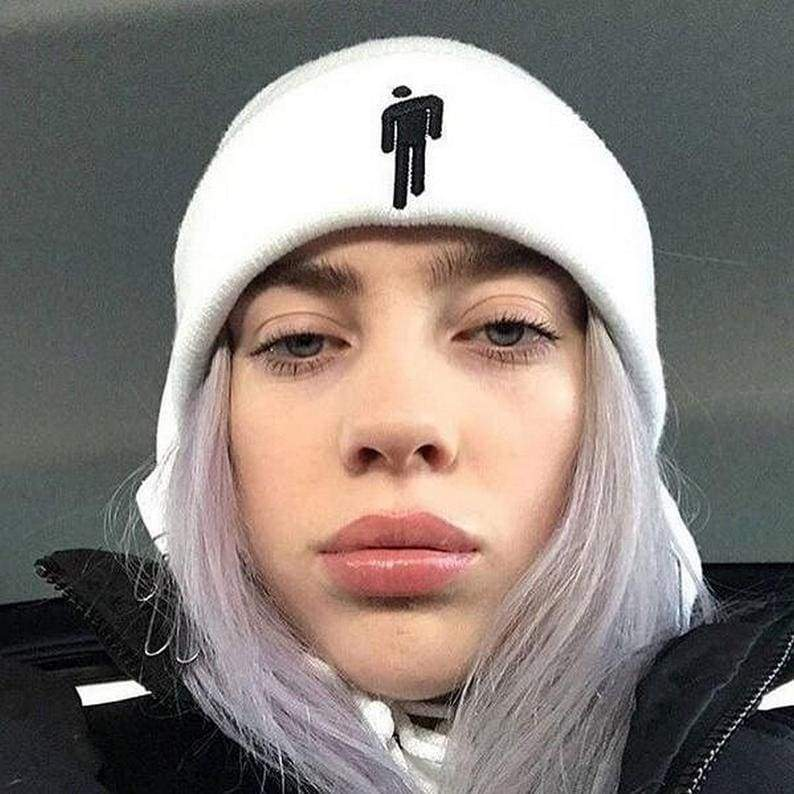 Billie Eilish Hang Man Beanie