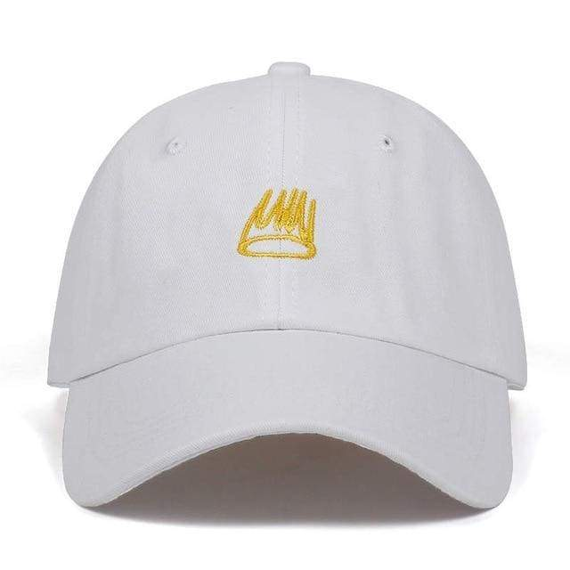 Born Sinner Cap | White