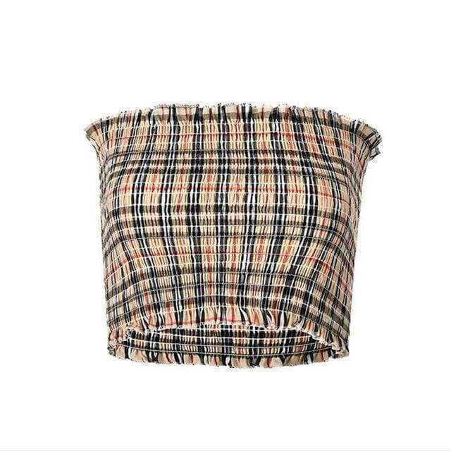 Burberry Tube Top | One Size / Streetgarm