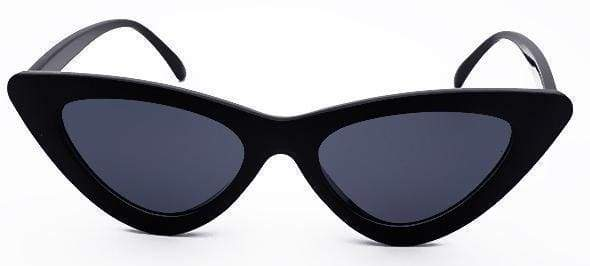 Cat Eye Sunglasses | Black Frame - Streetgarm