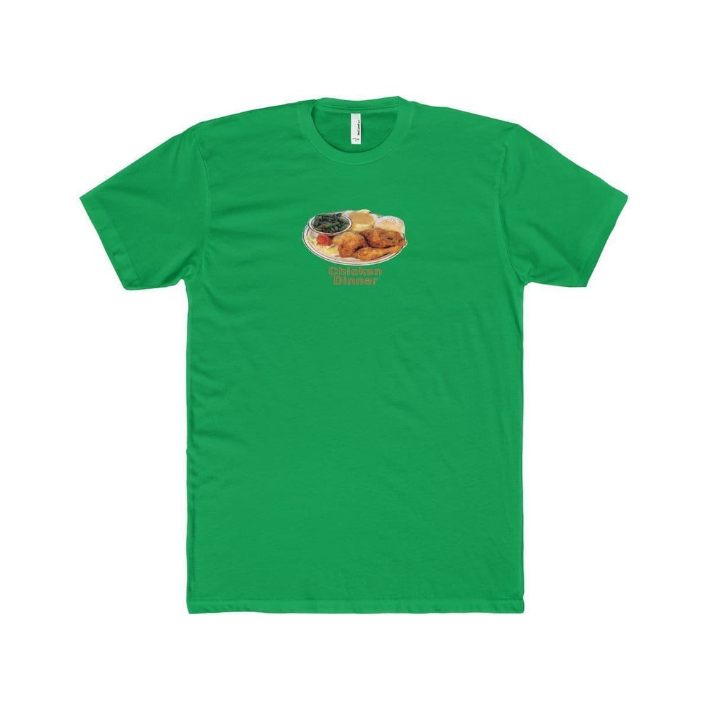 Chicken Dinner T-Shirt | Green / XS - Printify