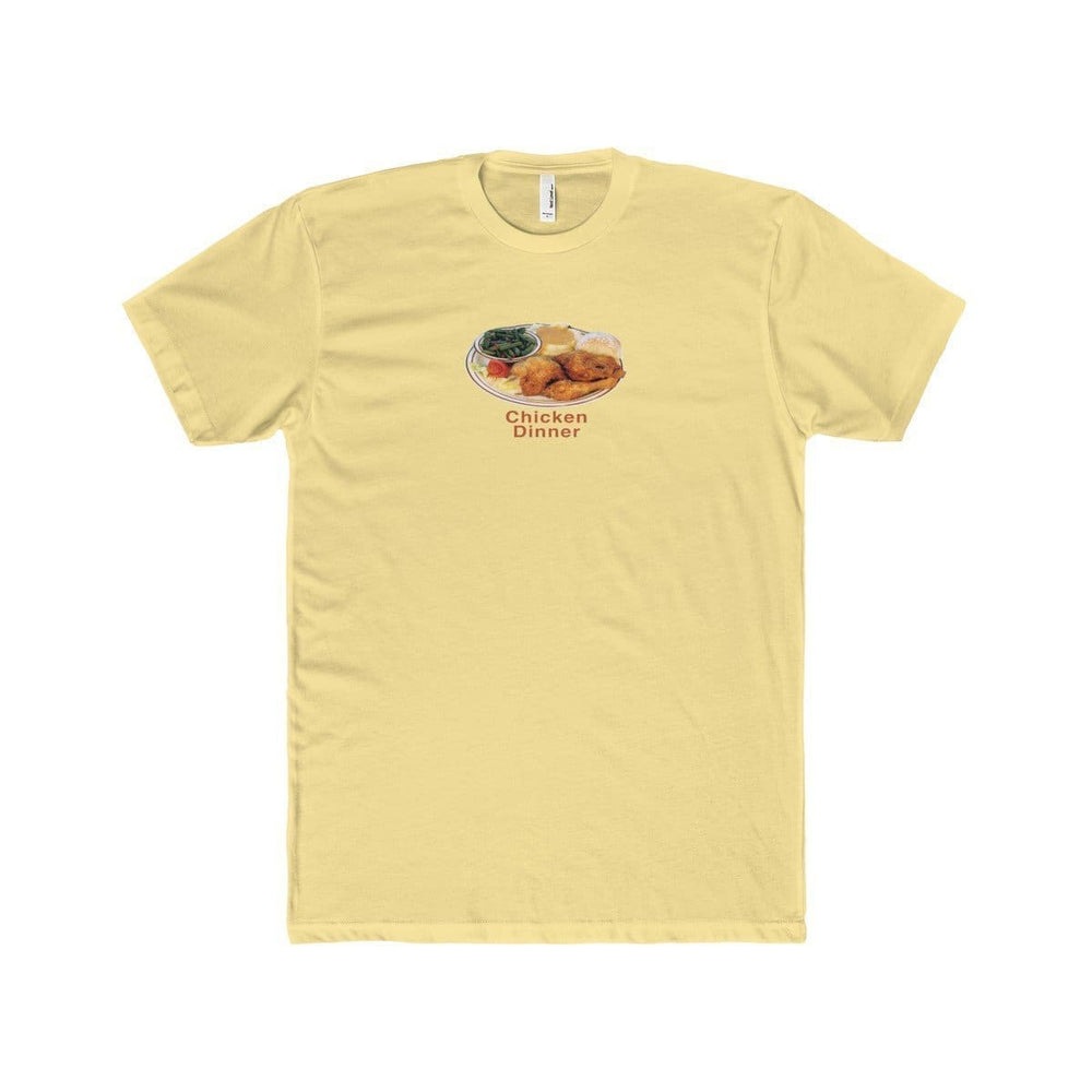 Chicken Dinner T-Shirt | Yellow / XS - Printify