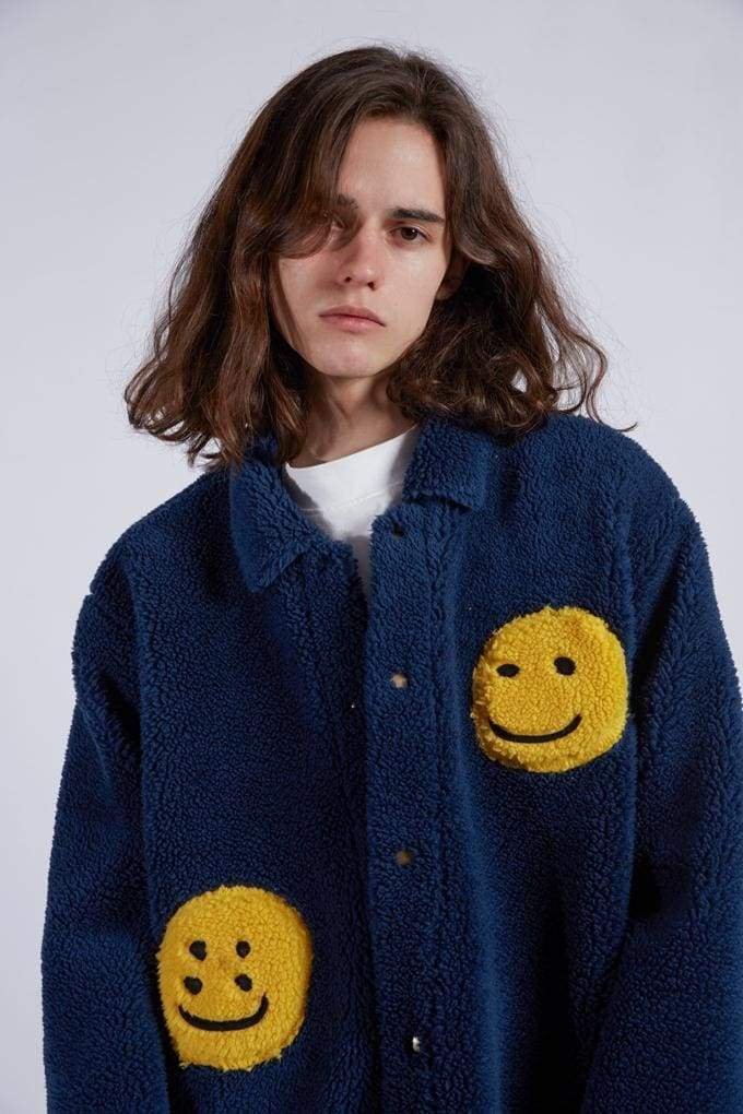 CPFM Smiley Fleece Jacket | Streetgarm