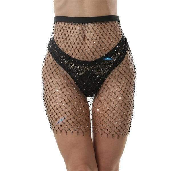 Diamond Mesh Skirt | Streetgarm