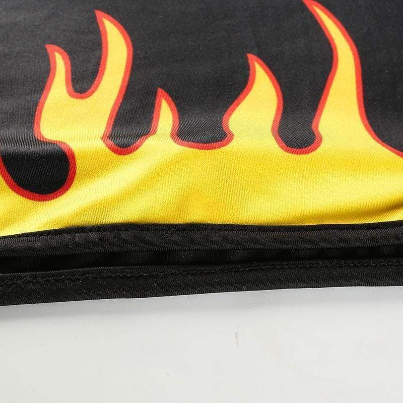 Flaming Crop Top | Streetgarm
