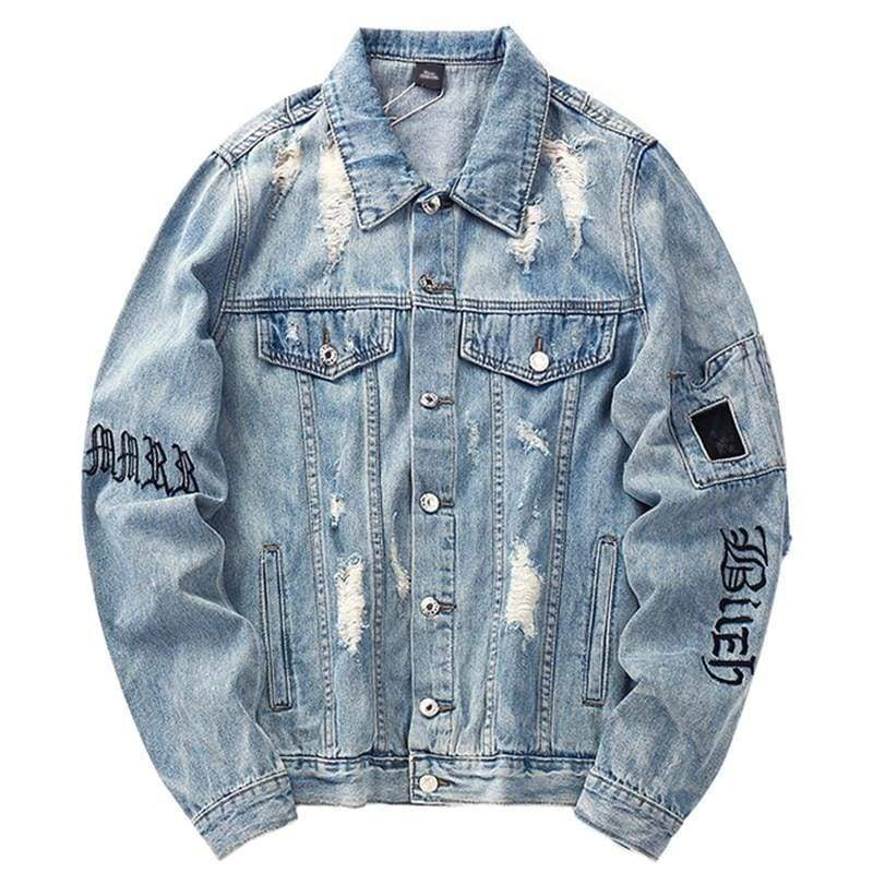 Gothic Denim Jacket | Streetgarm