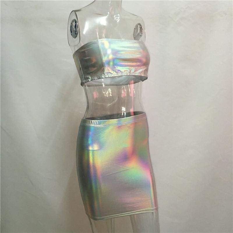 Holographic Two Piece | Streetgarm