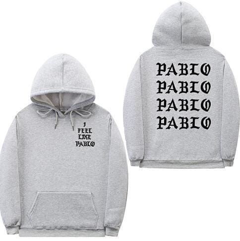 I Feel Like Pablo hoodie | Grey / S - Streetgarm