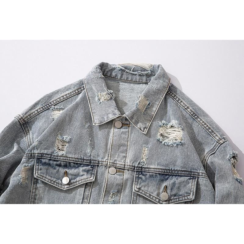 Kanye West Graduation Denim Jacket | Streetgarm