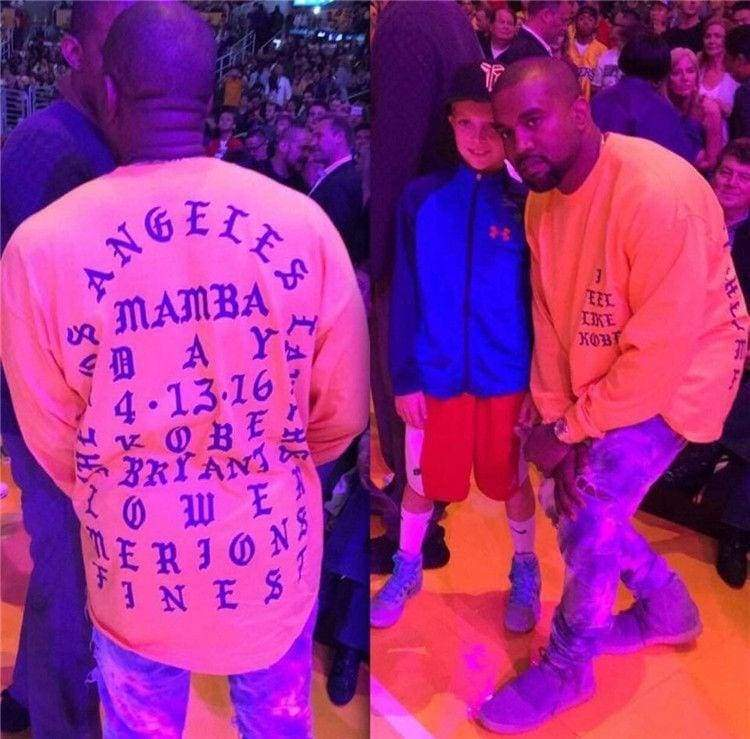 Kanye West I Feel Like Kobe T - Shirt | Streetgarm
