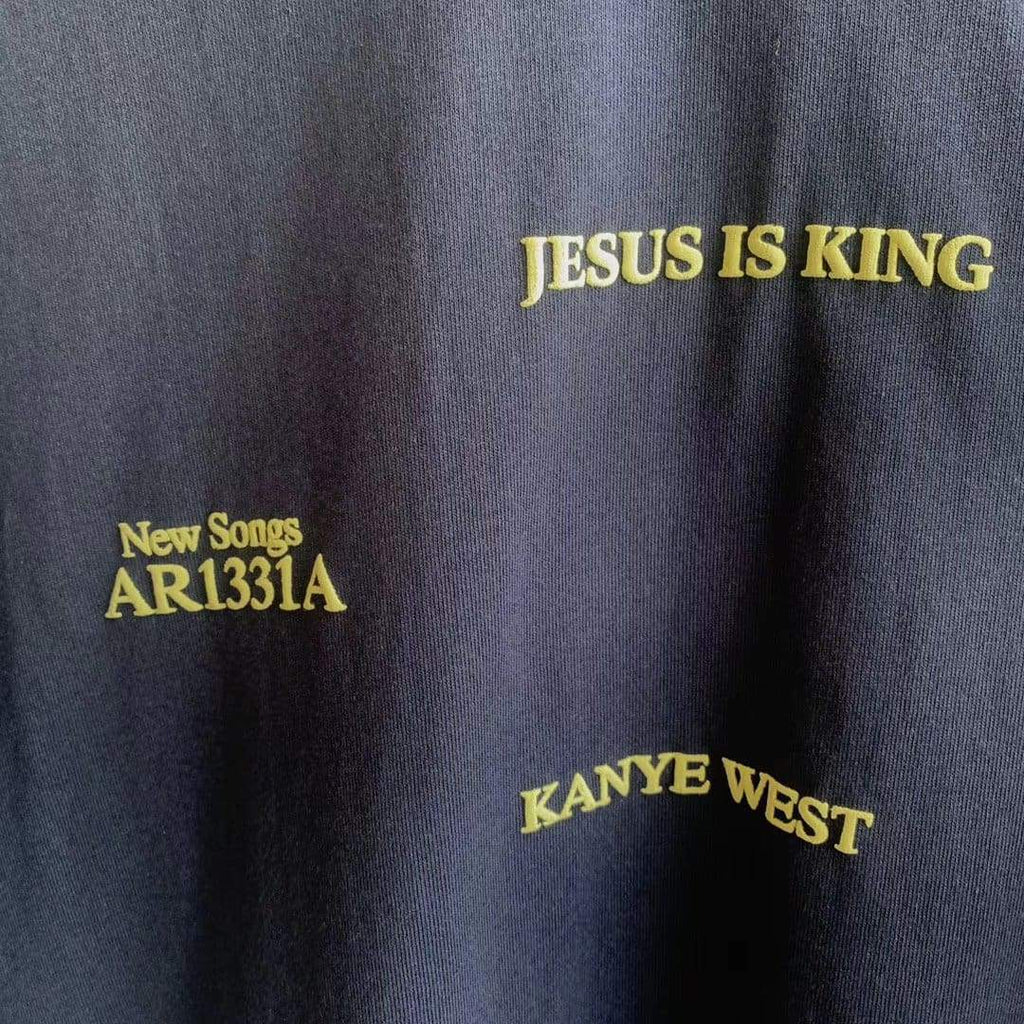 Kanye West Jesus Is King Short Sleeve T- Shirt | Streetgarm