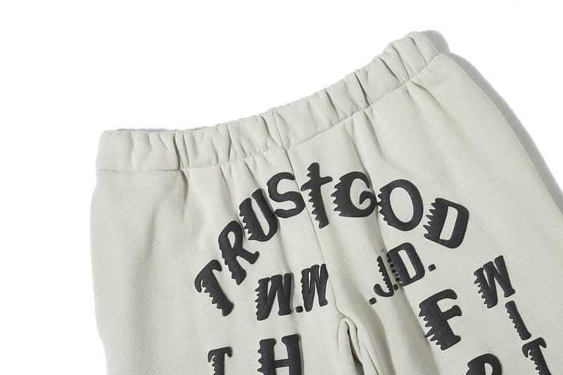 Kanye West Trust God Sweatpants | Streetgarm