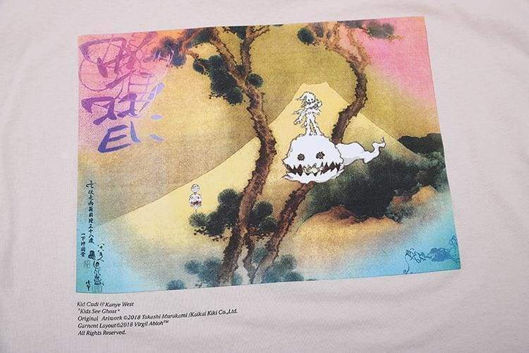 Kids See Ghosts T-Shirt | Streetgarm