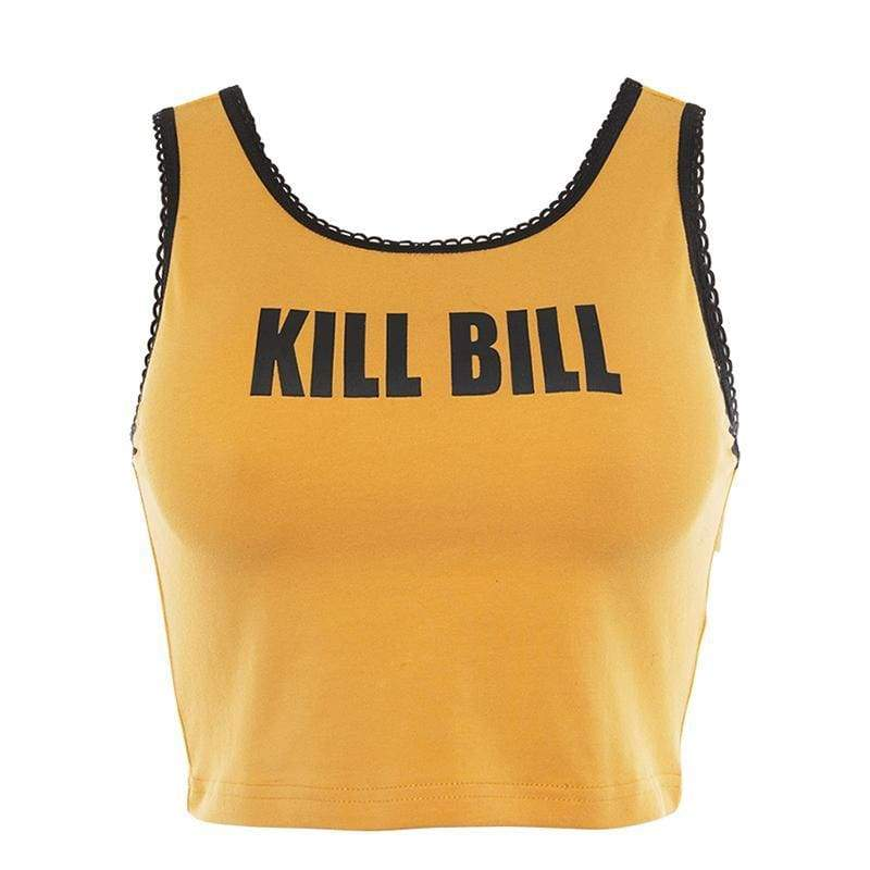 Kill Bill Crop Top