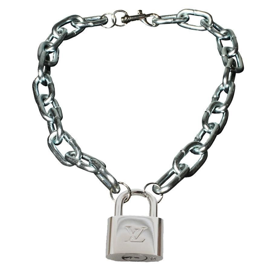 LV Padlock Necklace | Streetgarm