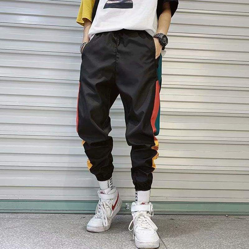 MAMC Color Block Jogger Pants | Streetgarm