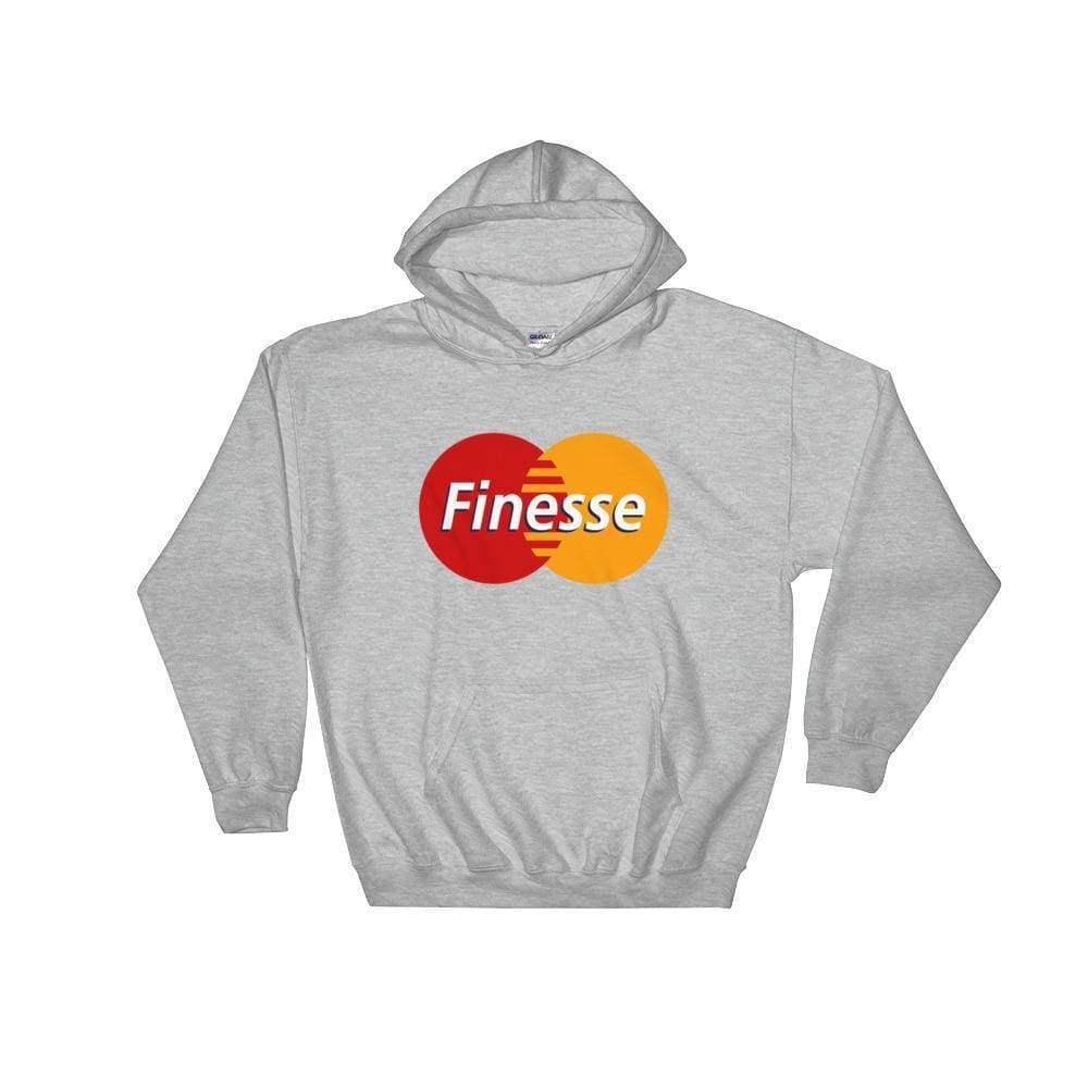 Mastercard Finesse Hoodie | Grey / S