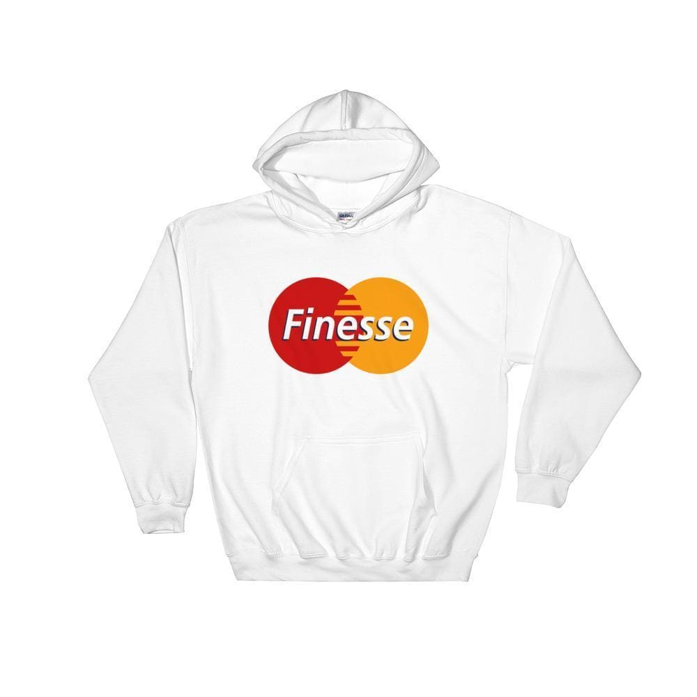 Mastercard Finesse Hoodie | White / S - Streetgarm
