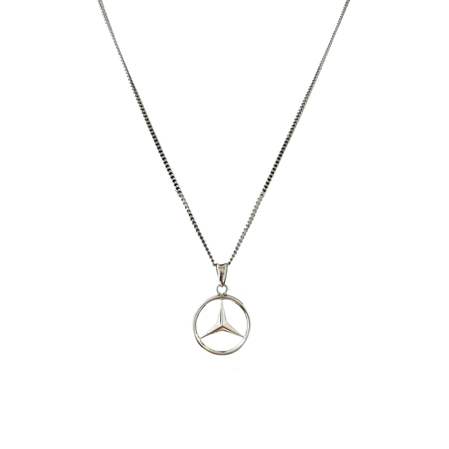 Mercedes Necklace | One Size / Silver - Streetgarm