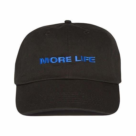 More Life Cap | Black - Streetgarm