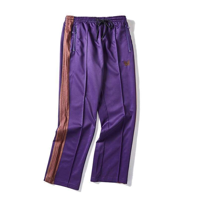 Needles Track Pants - Purple | Streetgarm