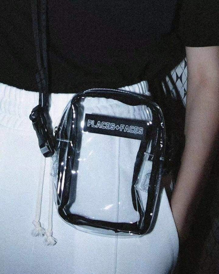 Places+Faces Transparent Bag | Streetgarm