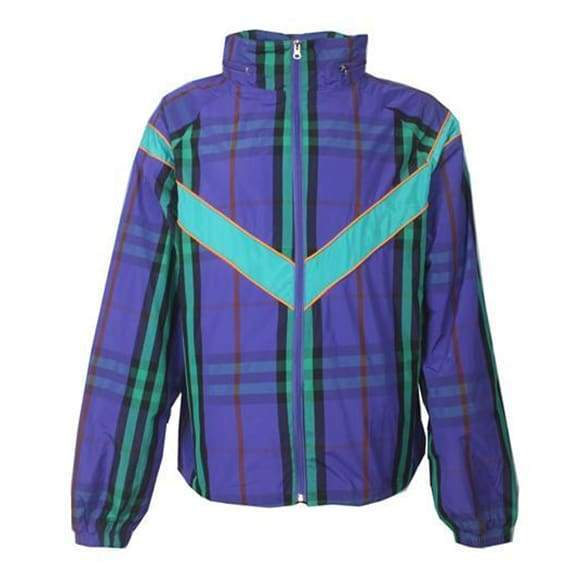 Plaid Windbreaker Jacket | Streetgarm