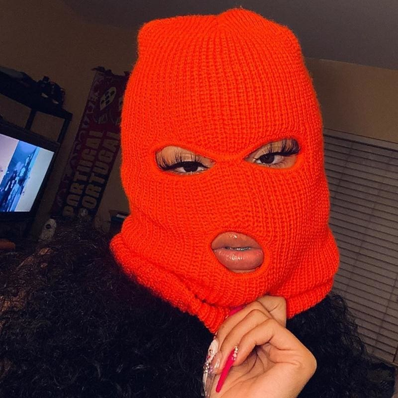 Plain Fashion Ski Mask | Streetgarm