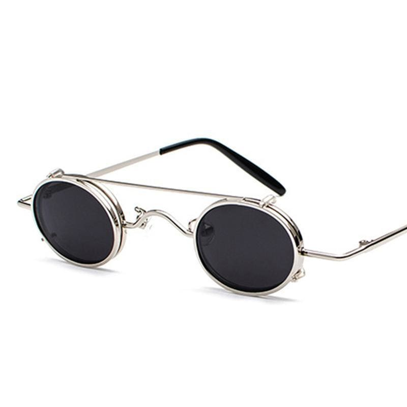 Retro Metal Clip Sunglasses | Streetgarm