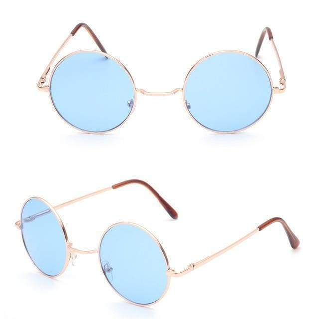 Retro Sunglasses | Blue - Streetgarm