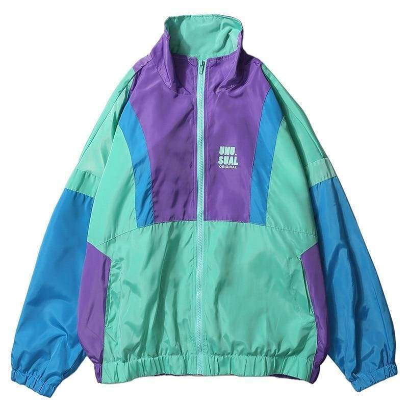 Retro Zip Track Jacket