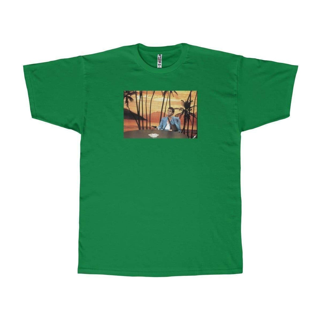 Scarface T-Shirt | Green / S - Printify