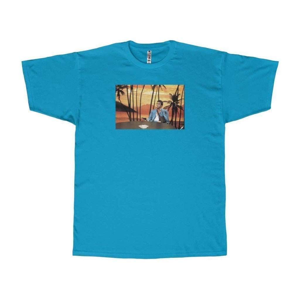 Scarface T-Shirt | Turquoise / S - Printify