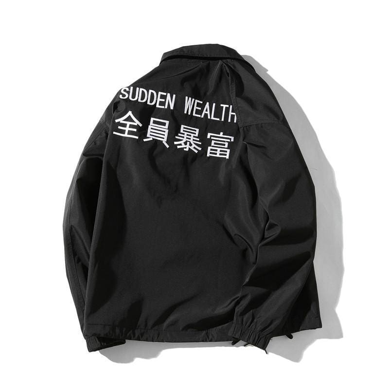 Sudden Wealth Coach jacket | Streetgarm