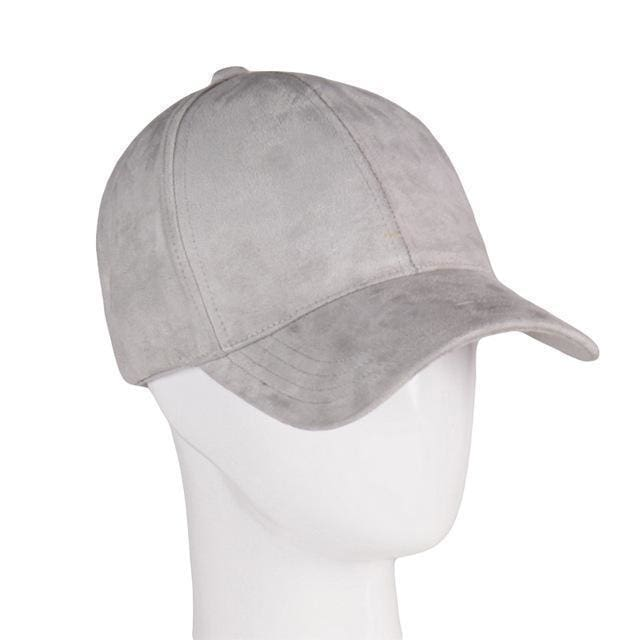 Suede Cap | Light Grey - Streetgarm